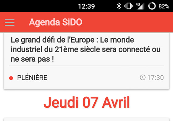 <span class='fancybox_desc'>Développement de l'application mobile du salon SIdO 2016 (6 & 7 avril). L'application est disponible sur le PlayStore d'Android (<a href='https://goo.gl/76IGvo'>https://goo.gl/76IGvo</a>)</span>
